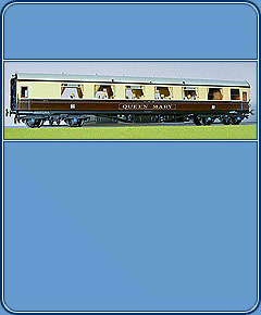 Model GWR Coaches