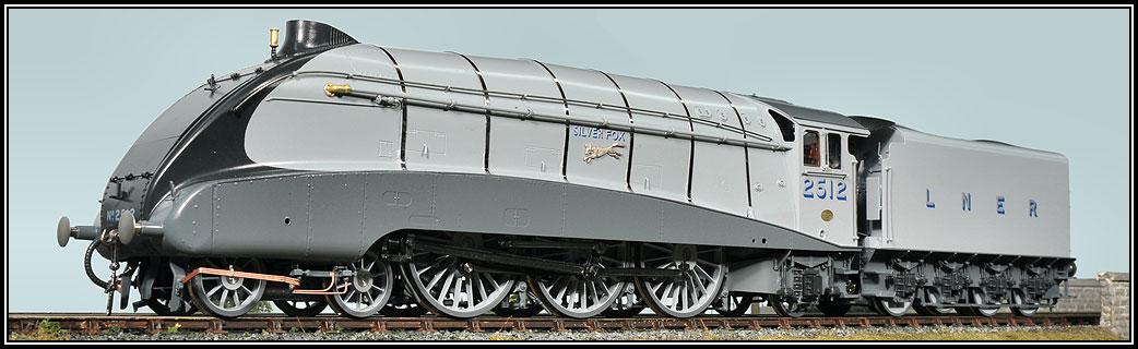 LNER A4 Class Locomotives in Gauge '1'